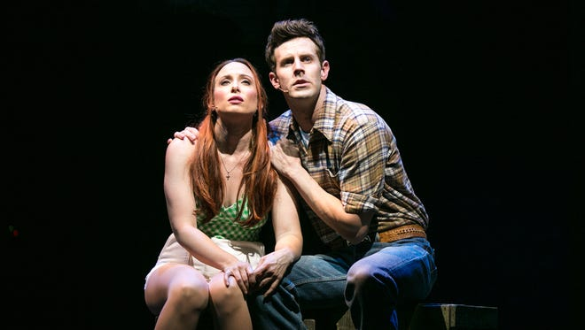 """Jayme Lake and Harley Jay star in Tennessee Performing Arts Center's world premiere production of """"Part of the Plan."""""""