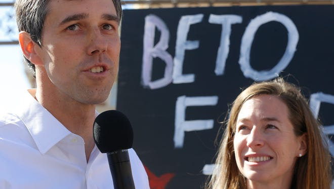 El Paso Democratic Congressman Beto O'Rourke has officiallylaunched what political experts call an uphill battle to unseat U.S. Sen. Ted Cruz in 2018. After months of signaling an interest in the Senate seat,O'Rourke formallyannounced hiscampaign accompanied by his wife Amy Friday morning during an event in El Paso.