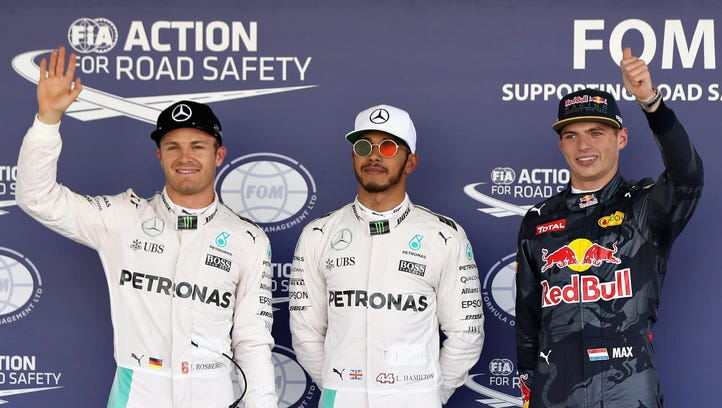 Lewis Hamilton, Nico Rosberg will start 1-2 at F1 Mexican Grand Prix