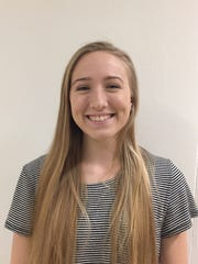 Groton High School salutatorian Emily George.