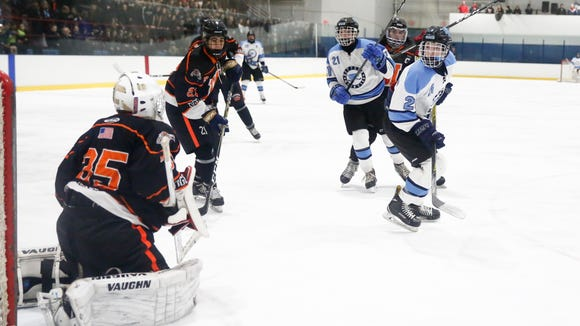 Suffern freshman Ryan Schelling was in middle school last season, but he cracked the starting lineup and led the Mounties in scoring. He committed to play at Providence over the summer.