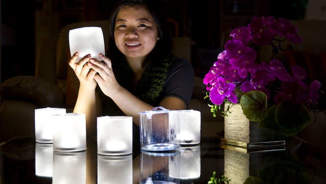 Jackie Kho, 18, of Rumson, came up with the idea to send thousands of Luci Lights to a remote area of Uganda where they are changing peoples lives for the better.Rumson, NJThursday, December 17, 2015@dhoodhood