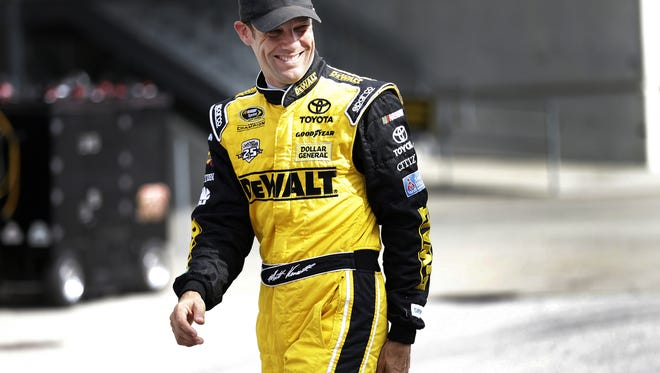 Sprint Cup Series driver Matt Kenseth is one of the sport's veterans along with Tony Stewart, Dale Earnhardt Jr. and Kevin Harvick.
