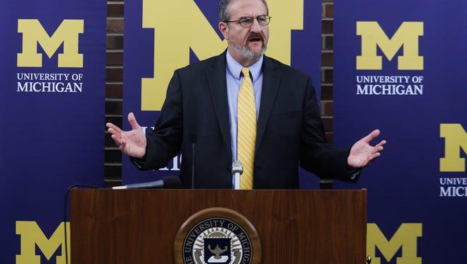 U-M president Mark Schlissel