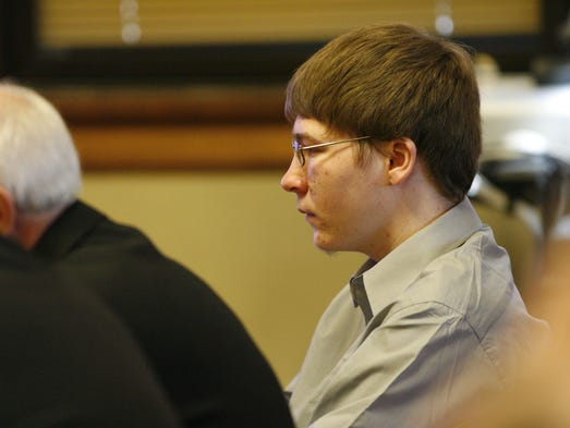 Brendan Dassey sits in court Monday, April 16, 2007,