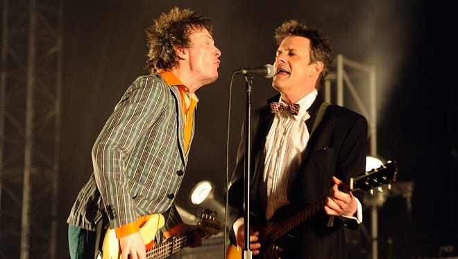 Tommy Stinson (left) and Paul Westerberg of The Replacements.