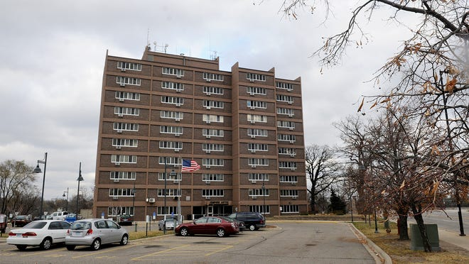 The Empire Apartments building is pictured in 2014 in St. Cloud.