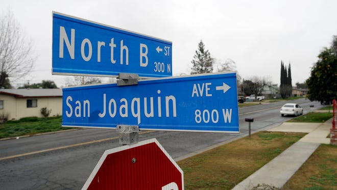 Council has approved about $750,000 in road, sidewalk and underground water system improvements on B Street from San Joaquin to Inyo avenues.