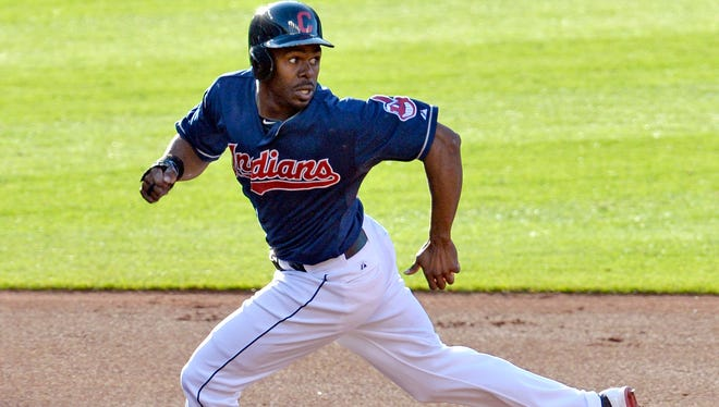 Inidans outfielder Michael Bourn has six stolen bases but has shown his speed remains.