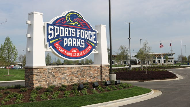 Cedar Point's new Sports Force Parks, a $23.5 million sports facility featuring 10 athletic fields and numerous other amenities, opened in March.
