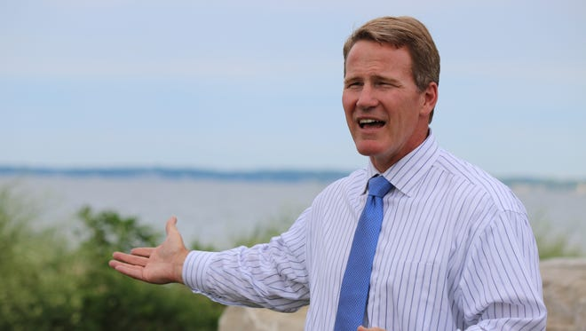 Jon Husted, candidate for Ohio Governor in 2018, said the health of Lake Erie would be one his top priorities.