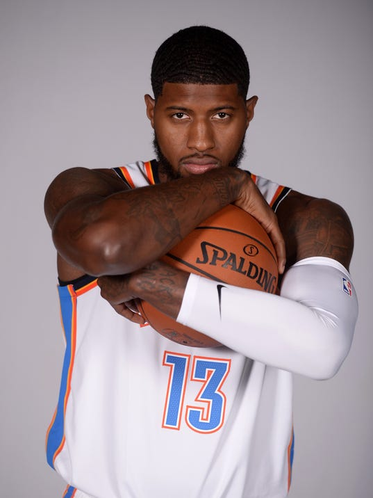 NBA: Oklahoma City Thunder-Media Day