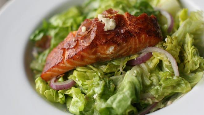 Maple-Glazed Salmon Salad