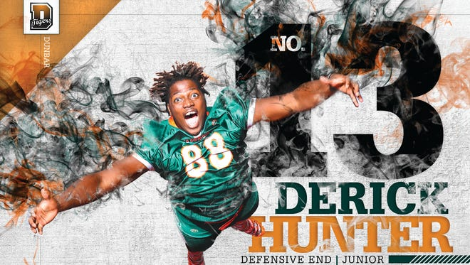 Dunbar defensive end Derick Hunter decommitted from Miami on Thursday.
