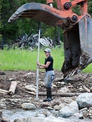 Ryen Neudecker, restoration coordinator for the Big