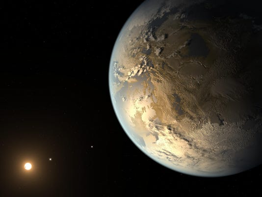 Another Earth may be 500 light years away