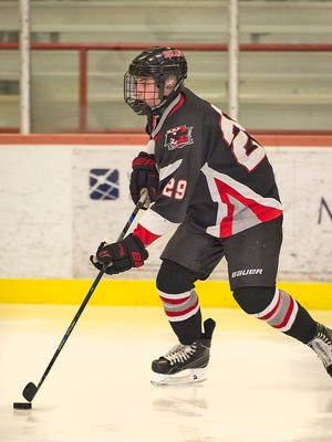 Junior Joe Konvit scored two third-period goals, including the game-winner, in Northern Highlands' Big North Gold Cup quarterfinal win over Indian Hills on Friday.