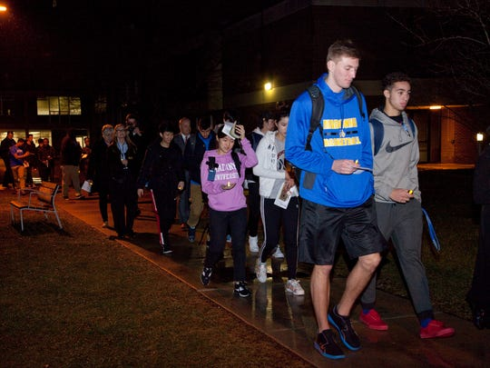 The Candlelight Vigil served as an electric kickoff for a week of thought-provoking and inspiring programs and service projects at the university.