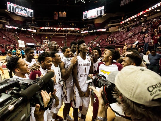 The Florida State men's basketball team surprised everyone