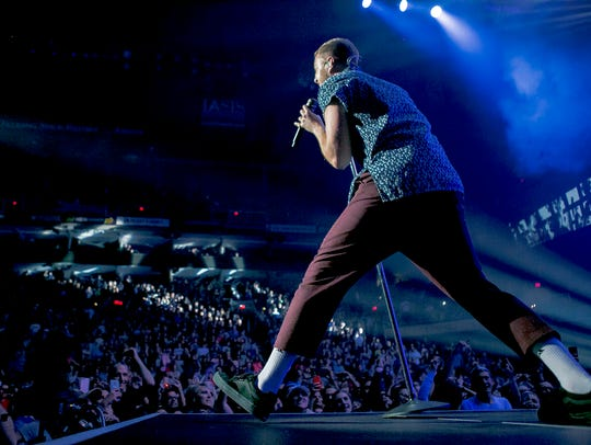 Imagine Dragons launch the Evolve Tour, Tuesday, September