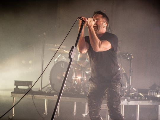 Nine Inch Nails launch their U.S. tour at Comerica