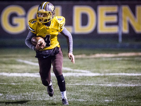 Monroe Central defeated Southwood 28-21 at Monroe Central