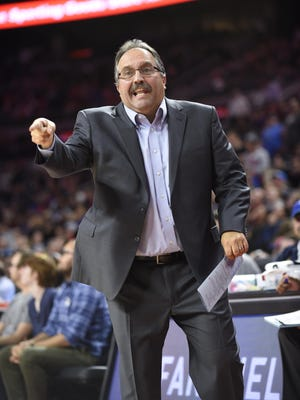 Pistons coach Stan Van Gundy will have some new pieces to work with for 2017-18.