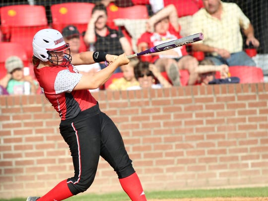 Leslie Westbrook/The Advertiser UL catch Lexie Elkins was virtually unstoppable at the plate during Sun Belt Conference play and fittingly earned Most Valuable Player recognition. Leslie Westbrook/The Advertiser There may not be a hotter hitter in the country these days than UL catcher Lexie Elkins, who hit .532 with 11 homers and 27 RBIs in March. UL's Lexie Elkins connects for a single in the third inning against Georgia Southern in an NCAA softball game Tuesday, March 17, 2015, at Lamson Park in Lafayette, La.