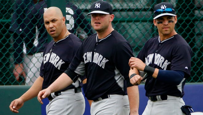 Carlos Beltran, Brian McCann and Jacoby Ellsbury were part of the Yankees' half-billion dollars in winter expenditures, a spree that didn't cause that many ripples.