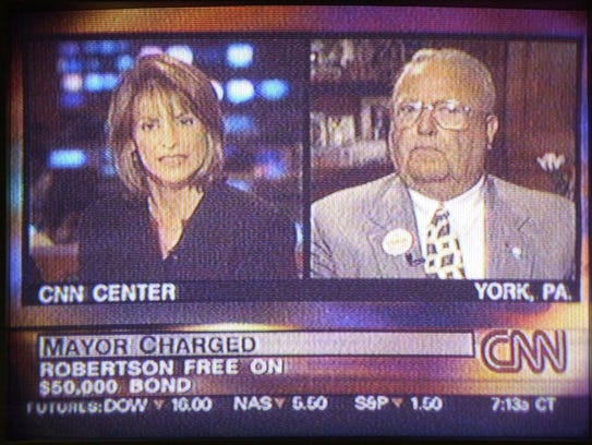 York Mayor Charles Robertson on CNN Friday morning