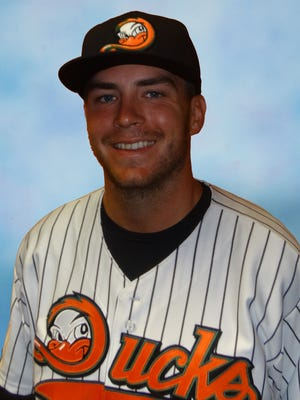 Danny Burawa, a pitcher for the Long Island Ducks