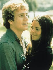 Ryan O'Neal and Ali MacGraw turned heads and broke