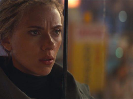 "Scarlett Johansson plays Black Widow in ""Avengers: Endgame."""