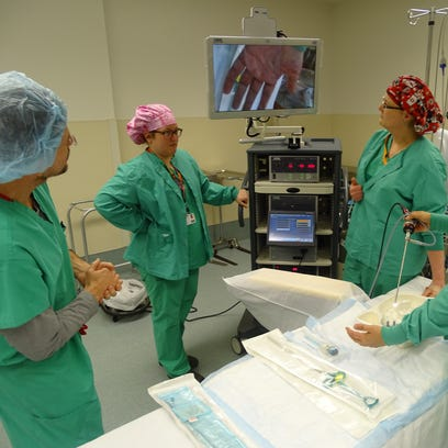 Healthcare professionals demonstrate state-of-the-art