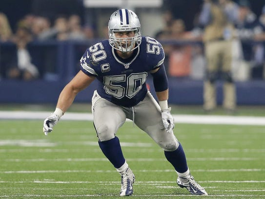 Linebacker Sean Lee led the Cowboys last season with
