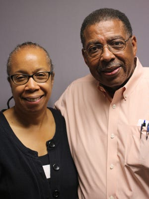 Professor Rhondda Thomas (left) and Clemson alumnus James Bostic Jr. have spearheaded a new look at the university's history.