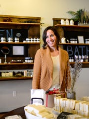 Christi Apodaca is the owner of C & Co. which sells skincare products and has a location downtown.