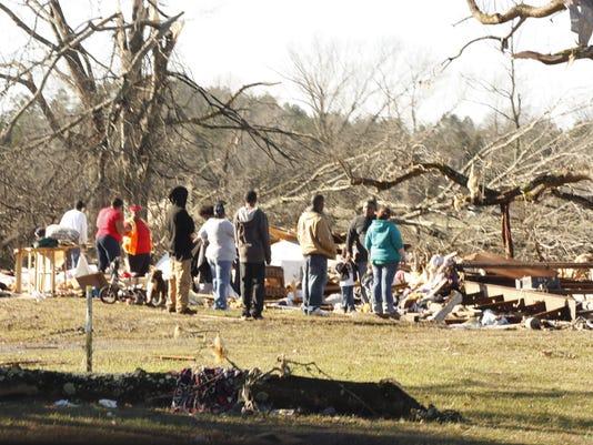 Brownfield tornado