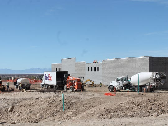The Walmart Neighborhood Market is projected to open for business in Alamogordo in June 2016.