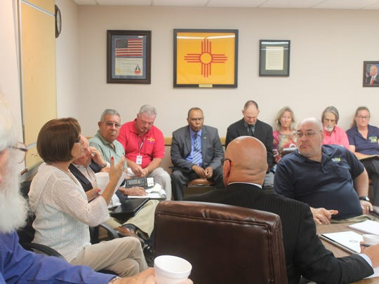 State Rep. Yvette Herrell said during the Veterans Leadership Council meeting Wednesday that verterans were calling her about issues with the VA in Alamogordo.