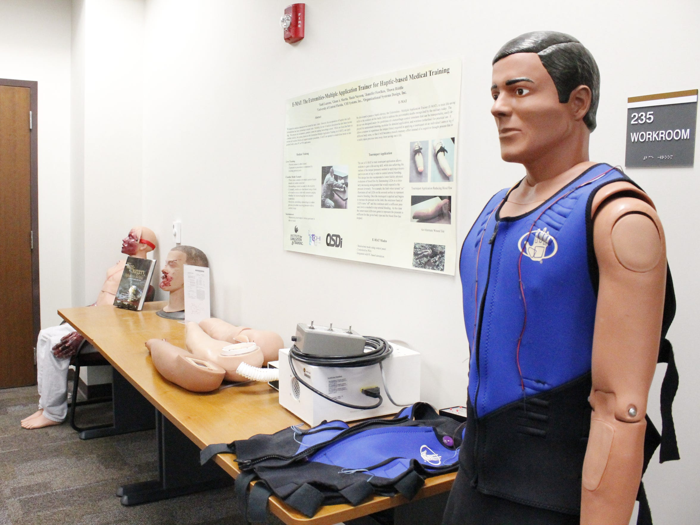 The Institute for Simulation and Training has also
