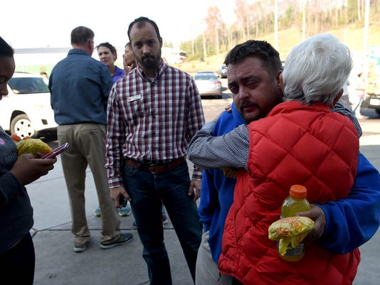 Gatlinburg evacuation