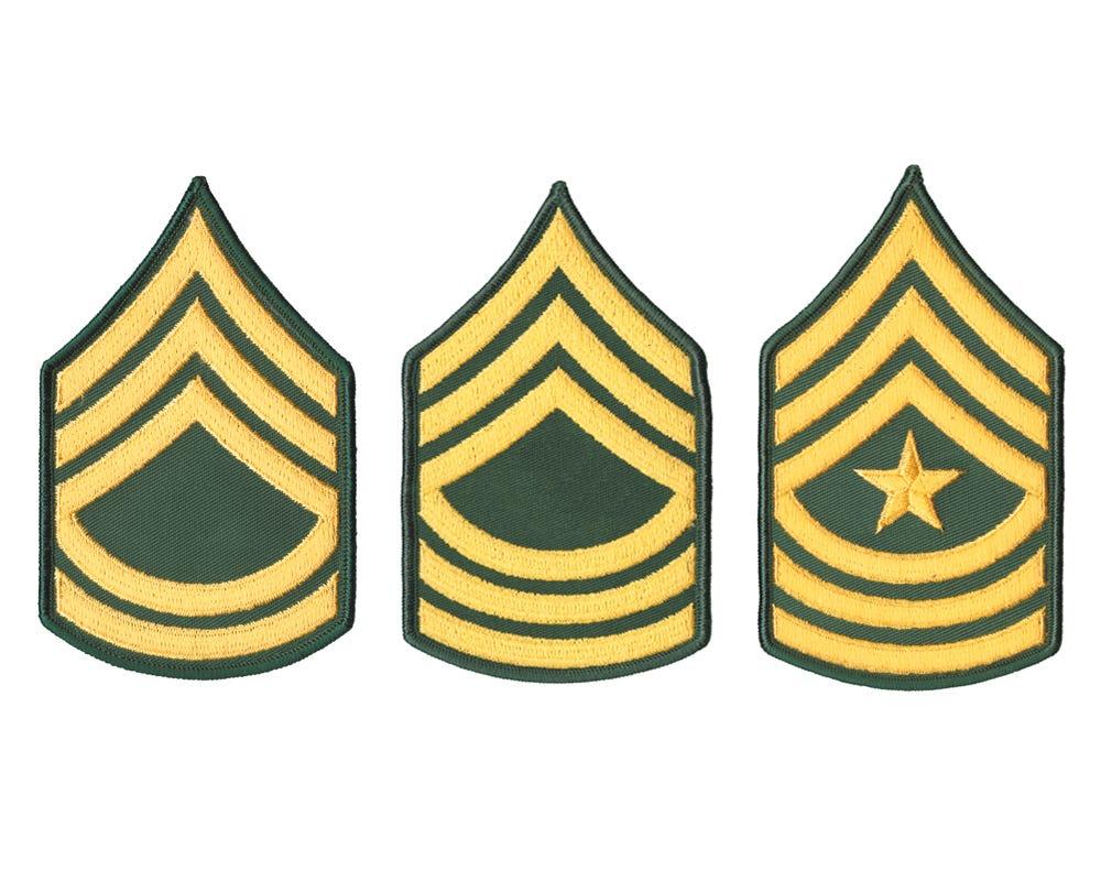 Rank-SFC E7, Sergeant First Class-OCP Sew-On Ranger Joes