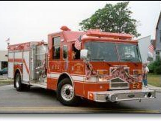 PLY fire engine tile