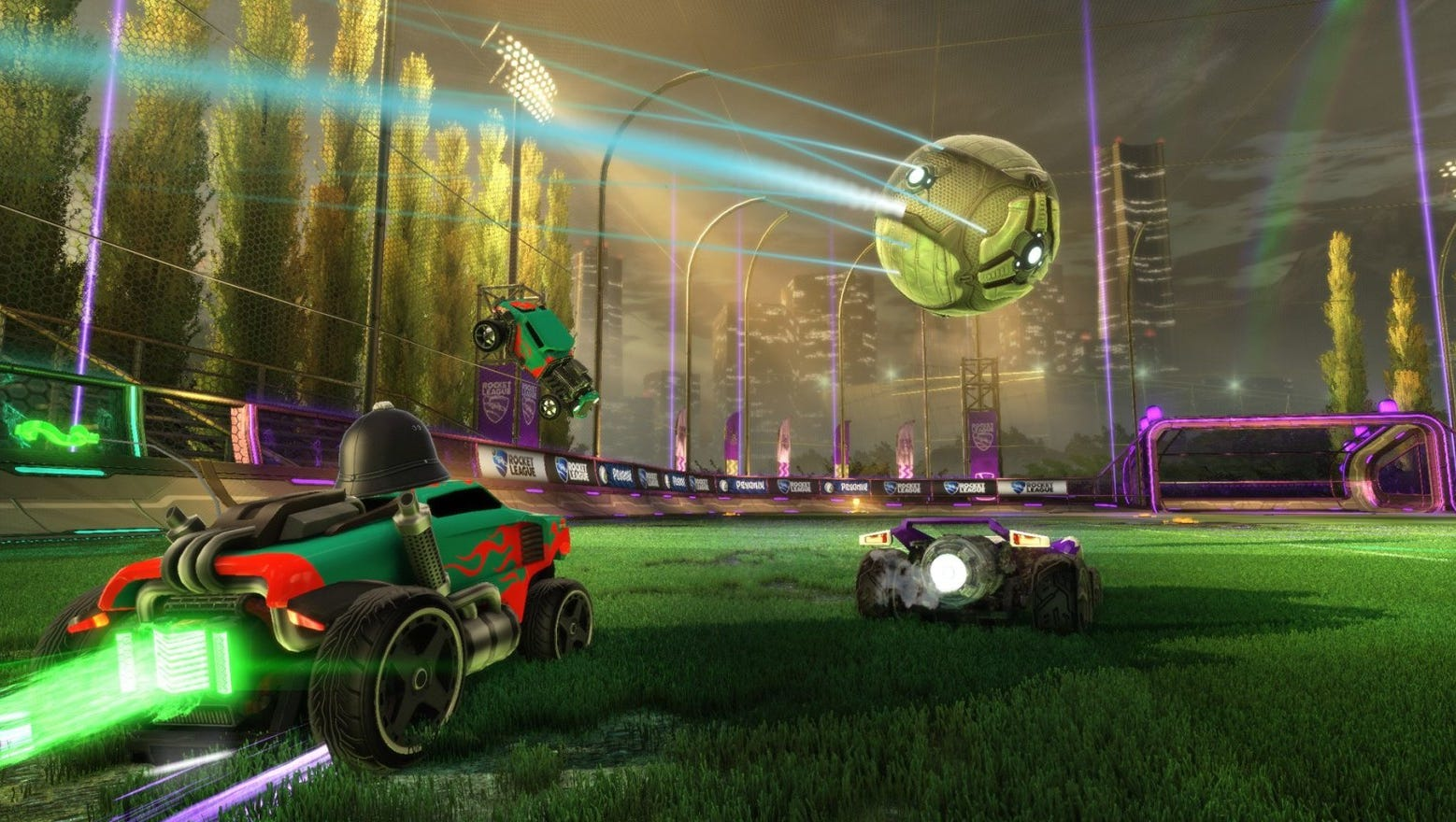 Video game Rocket League will be free to play starting ...