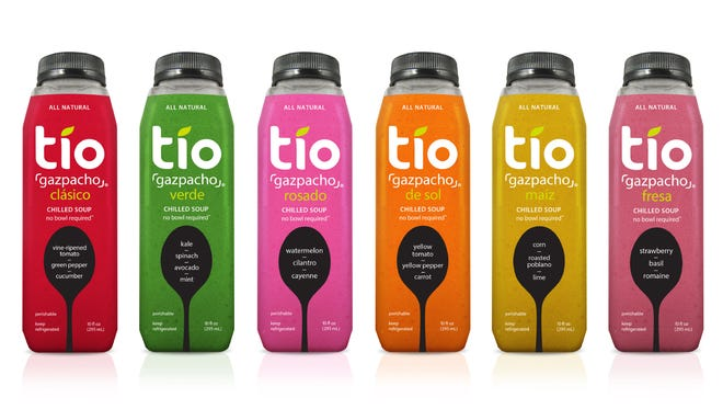Tio Gazpacho flavors.