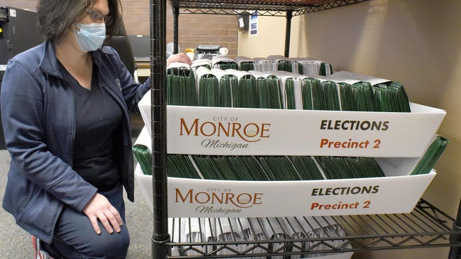 City of Monroe Clerk-Treasurer Michelle LaVoy said that they will start processing the absentee ballots today, Election Day, as there are over 5,100 ballots.