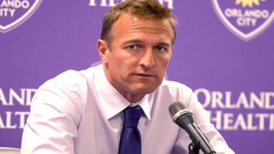 Jason Kries is out as Orlando City coach.
