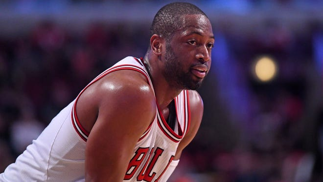 Bulls guard Dwyane Wade will be the guest at the 2017 U.S. Venture Open in August, an event that raises money to fight poverty in the Fox Valley.