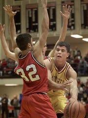 Basketball was Clayton Richard's third sport at McCutcheon
